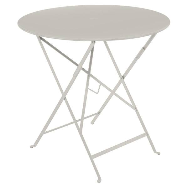 Fermob Bistro Table Round 77cm in Clay Grey