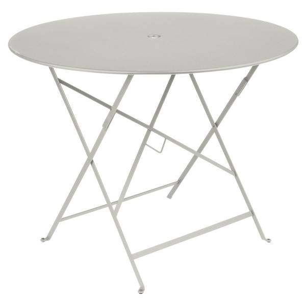 Fermob Bistro Table Round 96cm in Clay Grey