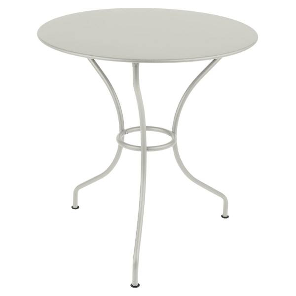 Fermob Opera Round Table 67cm in Clay Grey