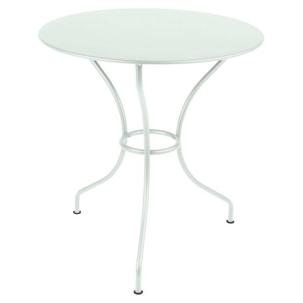Fermob Opera Round Table 67cm in Ice Mint