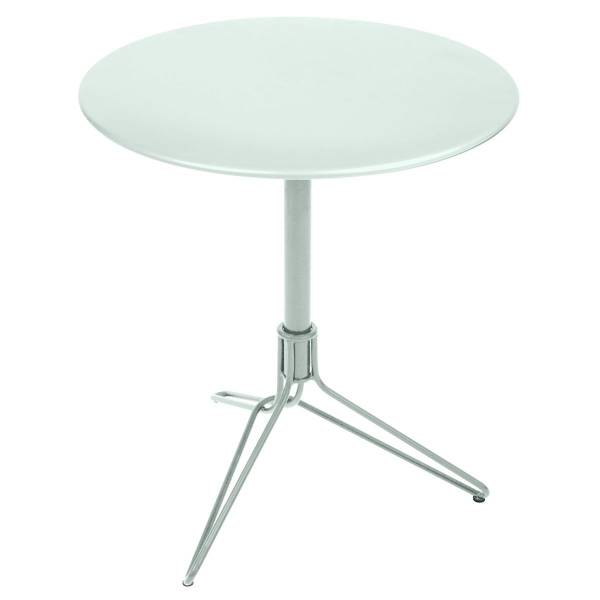 Fermob Flower Pedestal Table Round 67cm in Ice Mint