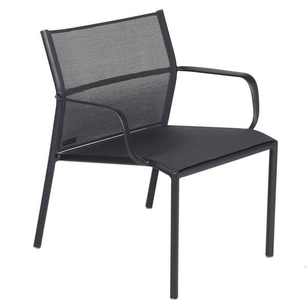Fermob Cadiz Low Armchair in Anthracite