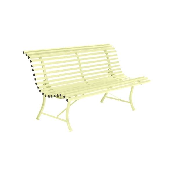 Fermob Louisiane Bench 150cm in Frosted Lemon