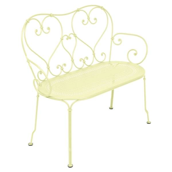 Fermob 1900 Bench in Frosted Lemon
