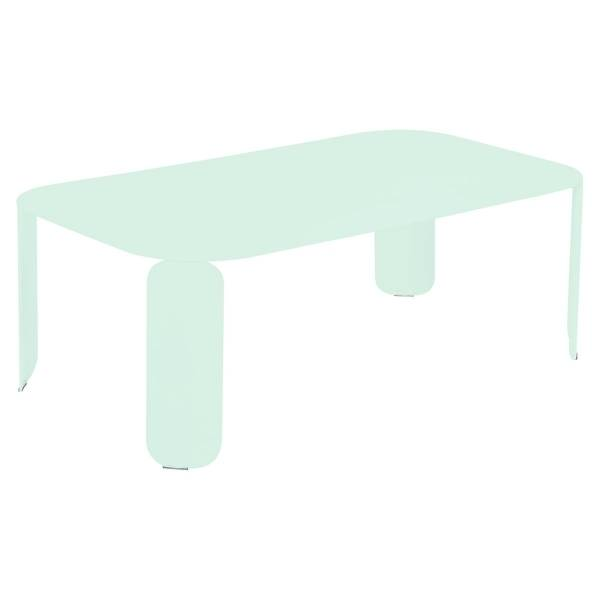 Fermob Bebop Low Table 120 x 70cm - 42 cm High in Ice Mint