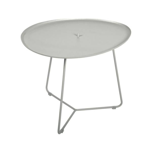 Fermob Cocotte Low Table in Clay Grey