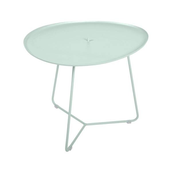 Fermob Cocotte Low Table in Ice Mint