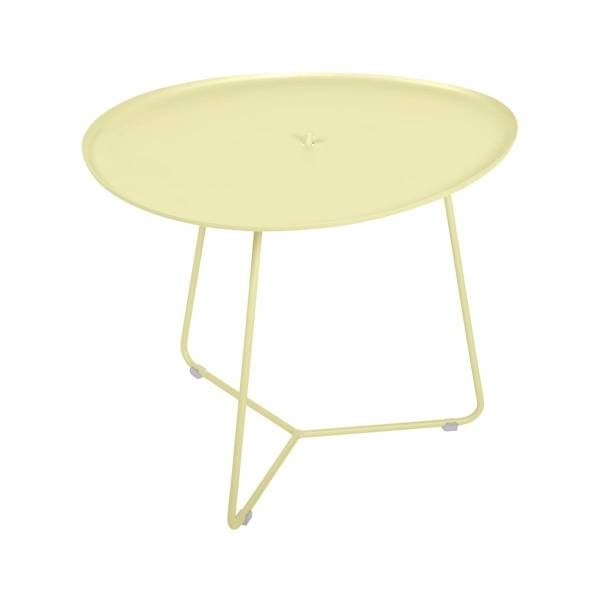 Fermob Cocotte Low Table in Frosted Lemon