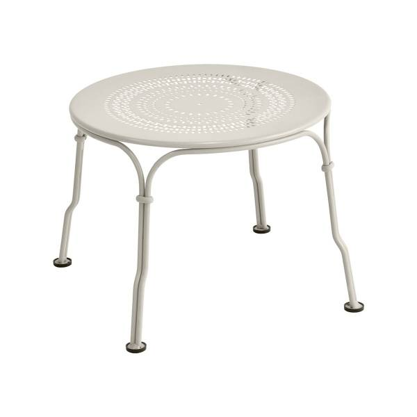 Fermob 1900 Low Table in Clay Grey