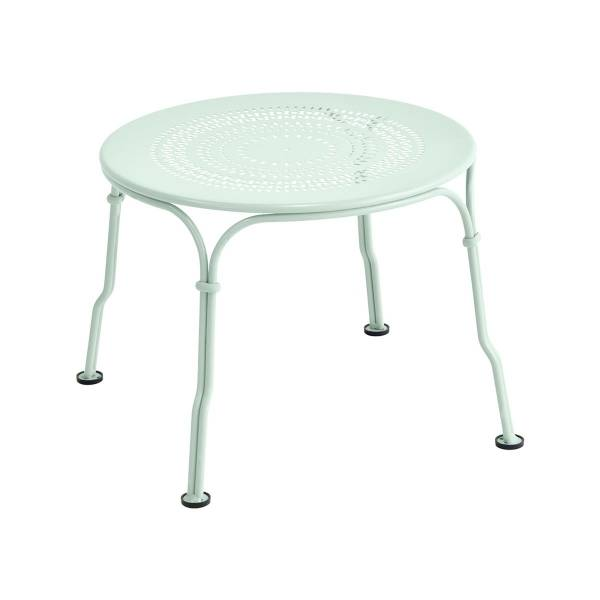 Fermob 1900 Low Table in Ice Mint