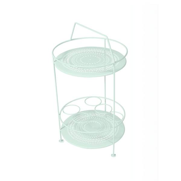 Fermob Montmartre Portable Bar in Ice Mint