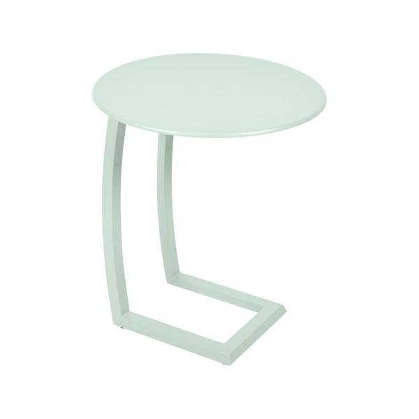 Fermob Alize Offset Low Table in Ice Mint