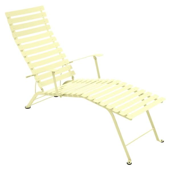 Fermob Bistro Deck Chair in Frosted Lemon