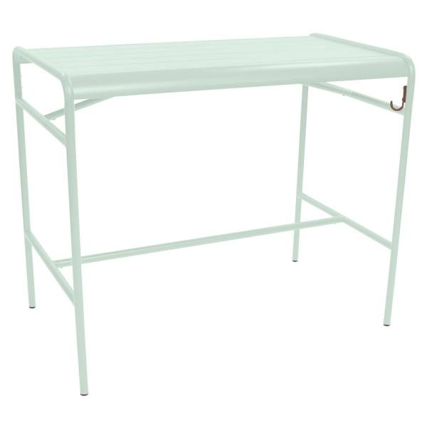 Fermob Luxembourg High Table 126 x 73cm in Ice Mint