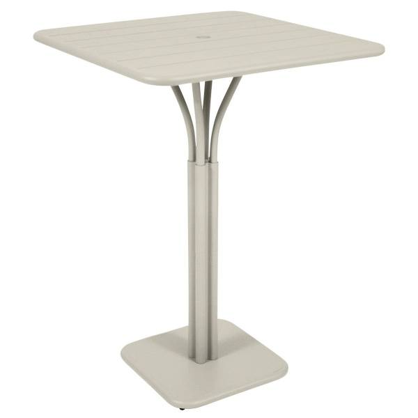 Fermob Luxembourg High Table in Clay Grey