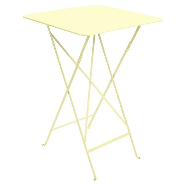 Fermob Bistro High Table 71 x 71cm in Frosted Lemon