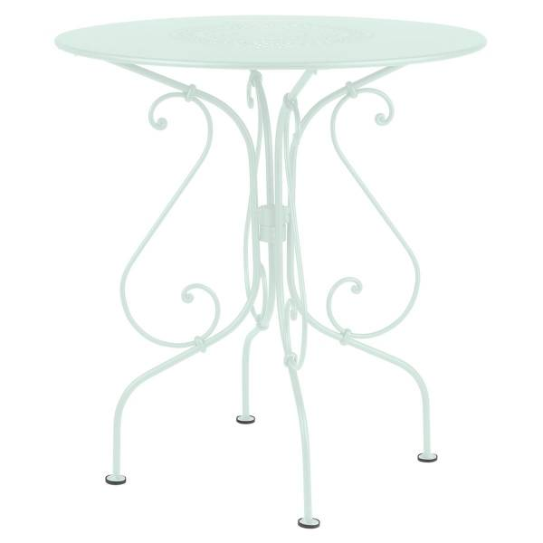 Fermob 1900 Table Round 67cm in Ice Mint