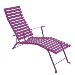 Bistro Deck Chair in colour Aubergine from Bistro Outdoor Furniture