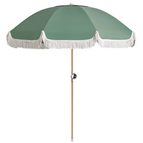 Basil Bangs Umbrella 180cm Sage Ambient