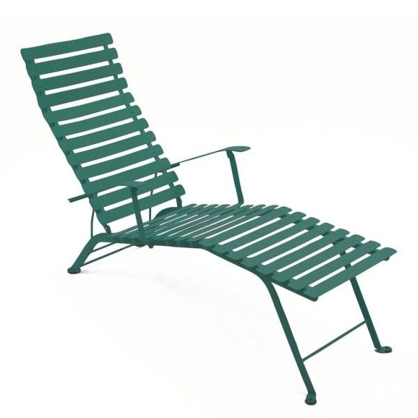 Fermob Bistro Deck Chair in Cedar Green