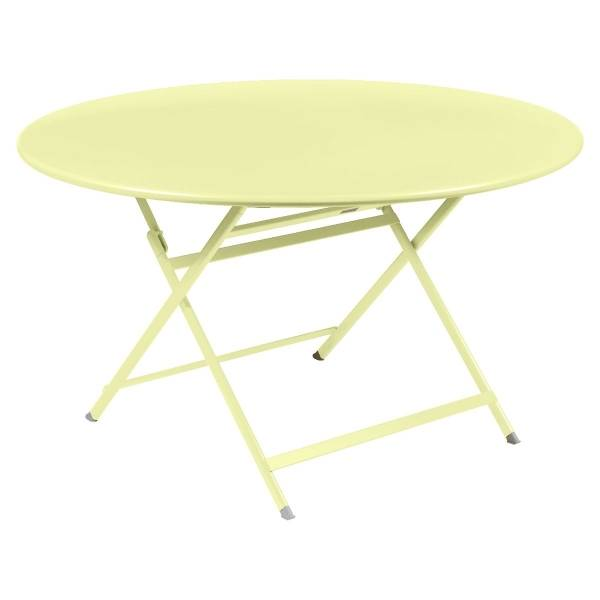 Fermob Caractere Table  in Frosted Lemon