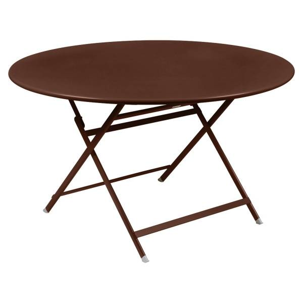 Fermob Caractere Table  in Red Ochre