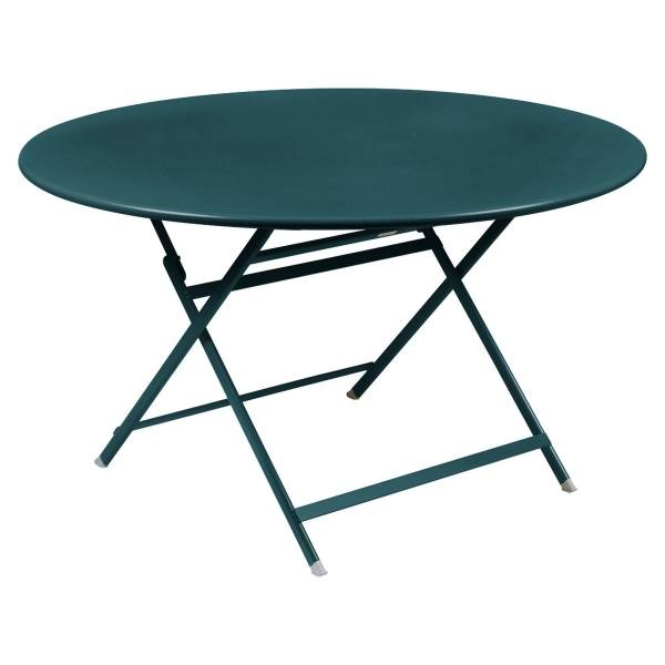 Fermob Caractere Table  in Acapulco Blue