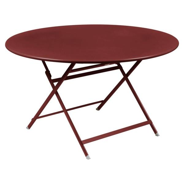 Fermob Caractere Table  in Chilli