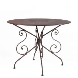 1900 Table Round 96cm from the 1900 Garden Furniture collection
