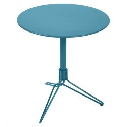 Flower Pedestal Outdoor Table Round 67cm from the Flower Range collection