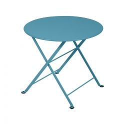 Tom Pouce Kids Outdoor Table in colour Turquoise from Tom Pouce Collection