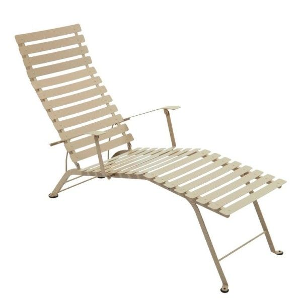 Fermob Bistro Deck Chair in Nutmeg
