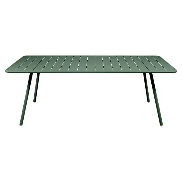 Fermob Luxembourg Table 207 x 100cm in Cedar Green