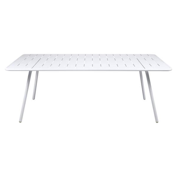 Fermob Luxembourg Table 207 x 100cm in Cotton White
