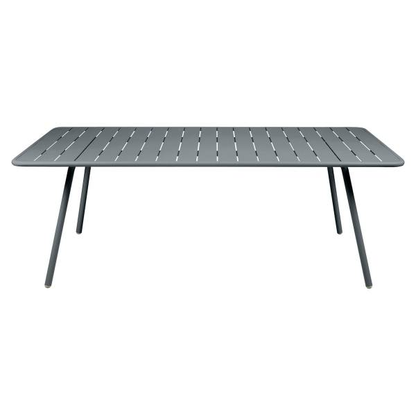 Fermob Luxembourg Table 207 x 100cm in Storm Grey