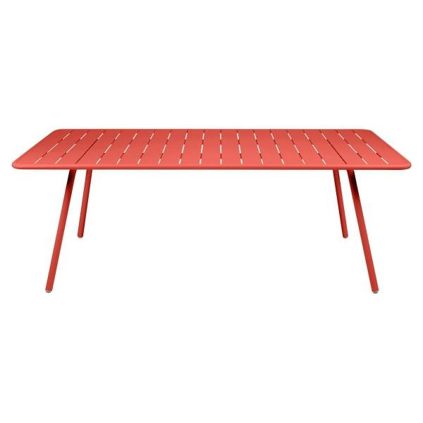 Fermob Luxembourg Table 207 x 100cm in Capucine