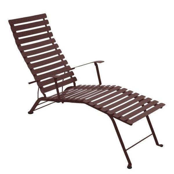 Fermob Bistro Deck Chair in Russet