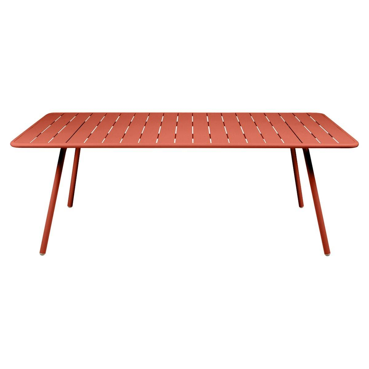 Luxembourg table 207 x 100cm luxembourg modern outdoor furniture jardin - Table jardin moderne dijon ...