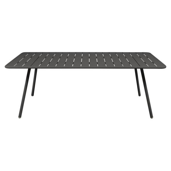 Fermob Luxembourg Table 207 x 100cm in Liquorice