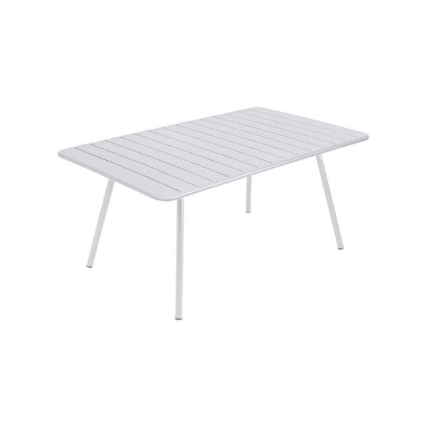 Fermob Luxembourg Table 165 x 100cm in Cotton White