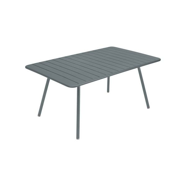 Fermob Luxembourg Table 165 x 100cm in Storm Grey
