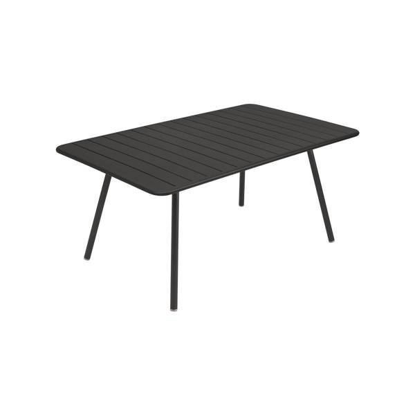 Fermob Luxembourg Table 165 x 100cm in Liquorice