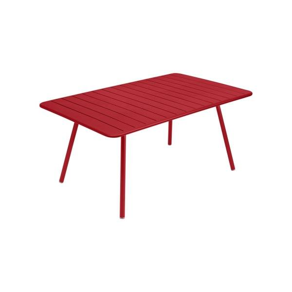Fermob Luxembourg Table 165 x 100cm in Poppy