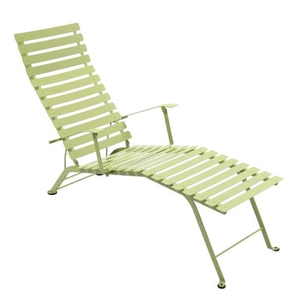 Fermob Bistro Deck Chair in Willow Green