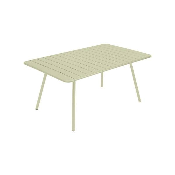 Fermob Luxembourg Table 165 x 100cm in Willow Green