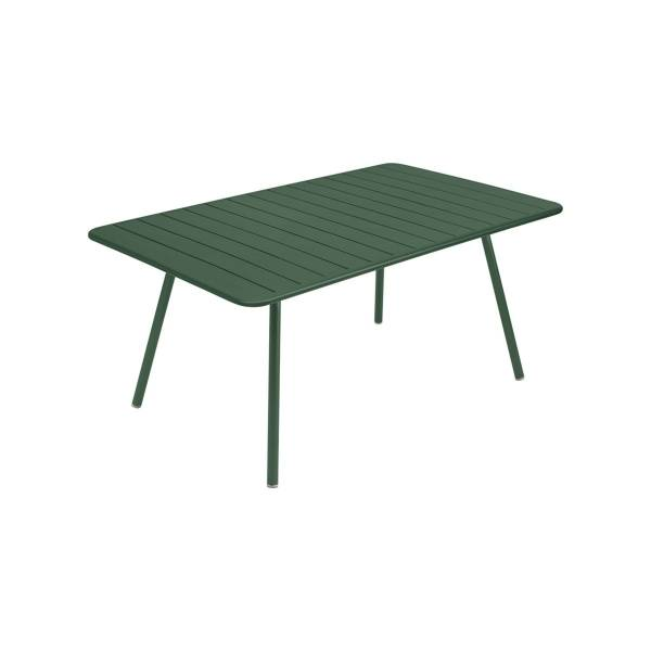 Fermob Luxembourg Table 165 x 100cm in Cedar Green