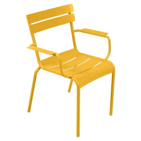 Fermob Luxembourg Armchair in Honey
