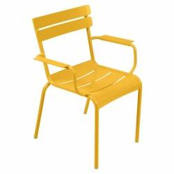 Luxembourg Outdoor Armchair in colour Honey from Luxembourg Modern Outdoor Furniture