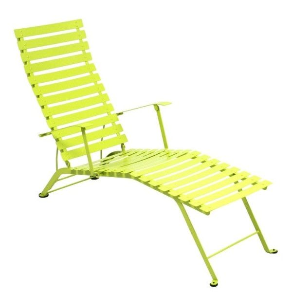 Fermob Bistro Deck Chair in Verbena