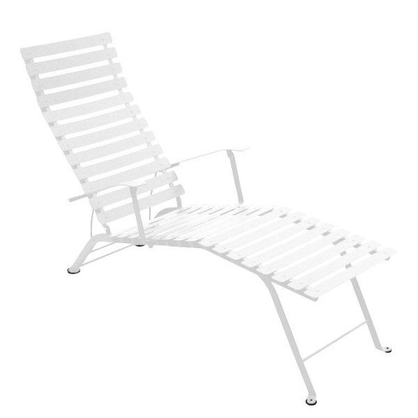 Fermob Bistro Deck Chair in Cotton White